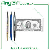 Plastic Scrolling Pen with Customized Color and Logo