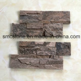 18X35cm Pink Quartzite Decoration Material Stone Wall Cladding