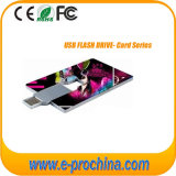 8GB Credit Card USB Flash Drive Business Card Pen Drive (EC002)