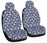 Universal Fit Full Set Jacquard Fabric Soild Comfortable Car Seat Cover