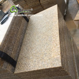 G682 Golden Sunset Flamed Granite Tile for Floor and Wall Cladding