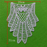 Crochet Cotton Water Soluble White Lace Collar (cn62)