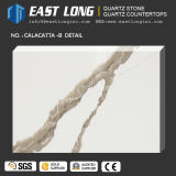 Popular Calacatta Quartz Stone for Countertops with Free Samples