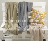 Woven Soft Washable Acrylic Throw Blankets