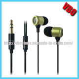 Luxury Metal in-Ear Earphone for Mobile Phone