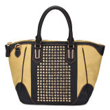 2014 Newest Rivets Women Fashion Designer Handbag (MBLX033165)