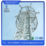 Galvanized Self Supporting Communication Tower