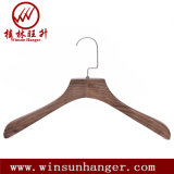 Luxury Clothing Store Display Hanger Adult Solid Wooden Hanger