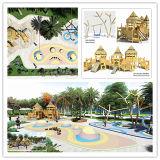 Wooden Playground Equipment for Children Park