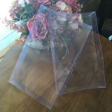 Clear plastic square packing box for shirt, tie, suit box