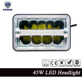 Auto Parts LED Square Headlight 4 X 6′′high Low Beam DRL for Truck Offroad LED Lights LED Headlight
