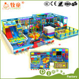 Ocean Theme Indoor Playground and Outdoor Playground Tube Slide
