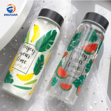 500ml Wholesale New Design Hot Selling Price Borosilicate Leak Proof Glass Water Bottle with Custom Logo Promotional Gift
