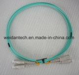 Sc-Sc Multimode Duplex Om3 Fiber Optic Patch Cord
