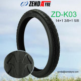 "14"" Pneumatic Rubber Tyre with Inner Tube for Baby Stroller"