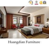 Wholesale 4 Star Modern Hospitality Bedroom Set Wooden Hotel Furniture (HD424)