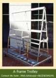 a-Frame Glass Trolley/ Glass Rack