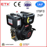 7HP Air Cooled Diesel Engine with Strong Package (Key Start)