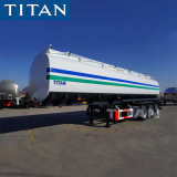 Fuel Tanker /Tank Trailer /3 Axle 45000 Liters Stainless Steel Diesel Fuel Tank Prices Manufacturers / Acid Tanker Truck Semi Trailer for Acid/Oil Transport