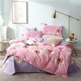Cheap 100% Polyester Bed Sheet Popular Design Quilt Cover Bedding Set