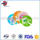 PE Laminated Aluminum Foil Lid For Plastic Cup Sealing