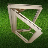 Single Leaf 4mm Clear Glass Aluminum Windows for Social House