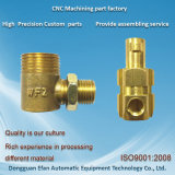 Factory Brass Plug Casting Parts & Precision CNC Machining Processing