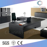 Luxury Wooden Executive Desk Office Table with Cabinet (CAS-MD1834)