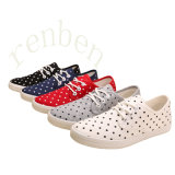 Hot Sale Vulcanized Women′s Casual Canvas Shoes