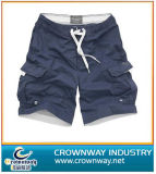 Casual Cotton Washed Cargo Chino Shorts for Men