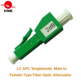 LC/APC Singlemode Male to Female Plug Type Fiber Optic Attenuator