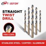 High Quality DIN338 / DIN340 HSS Straight Twist Drill Bit