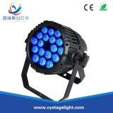 Wholesale RGBW Waterproof LED Flat Slim PAR Stage Light (18PCS)