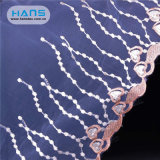 Hans Cheap Wholesale Apparel White Lace Fabric