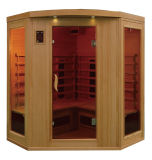 Corner Indoor Dry Sauna Room