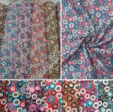 Stock 100%Polyester Printed Microfiber Fabric 95GSM Width 150cm for Hometextile