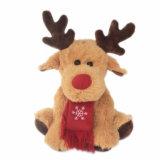 Soft and Stuffed Christmas Moose Plush Toy