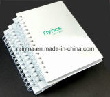 A5 White Cover Spiral Notebook for Promotional Gift