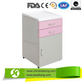 New Powder Coated Steel Bedside Cabinet with ABS Top (CE/FDA/ISO)