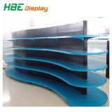 Metal Gondola Supermarket Display Shelf