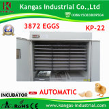 CE Proved Hot Sale Egg Automatic Incubator