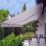 Economic Garden Prefab Remote Control Retractable Awning
