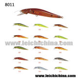 Colorful Plastic Hard Fishing Lure Minnow Lure