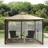 3.3X3.3m Gazebo with Adjustable Side