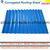 Building Material Roofing Sheet Prepainted Galvanized Corrugated Sheet