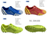 No. 50640 Men′s Football Shoes Stock Shoes
