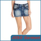 Lady Denim Mini Skirts (JC2011)