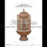 Top Quality White Carrara Wall Fountain for Craft Mf-622