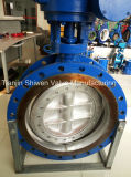High Performance Hard Metal Seal Triple Eccentric Butterfly Valve
