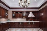 Welbom 2015 European Style Luxury Solid Wood Walnut Kitchen Cabients
